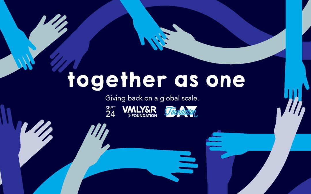 """Celebrating """"Together as one"""" with individual acts of kindness"""